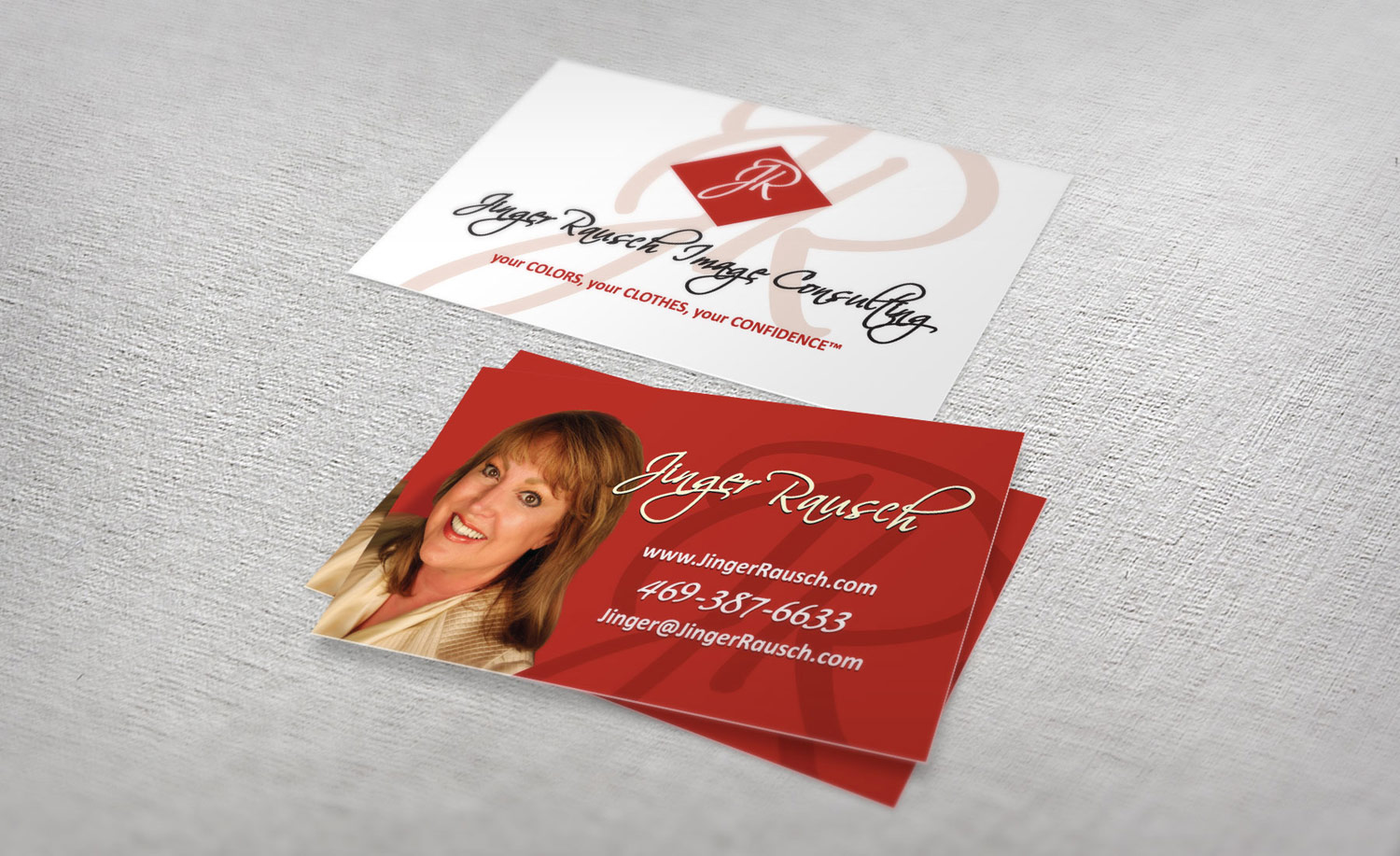 Business cards pr incorporated jinger rausch bcards magicingreecefo Images