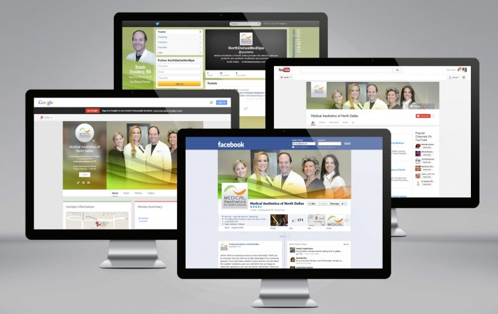 Social media customization for Medical Aesthetics of North Dallas