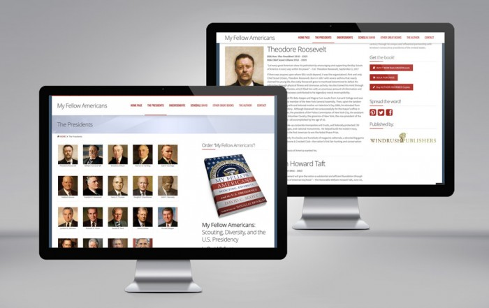 New website created for David C. Scott