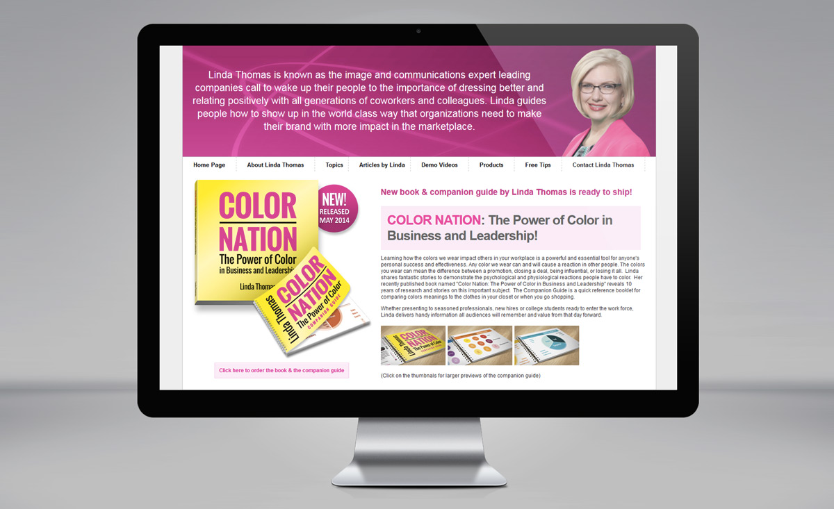 COLOR NATION webpage