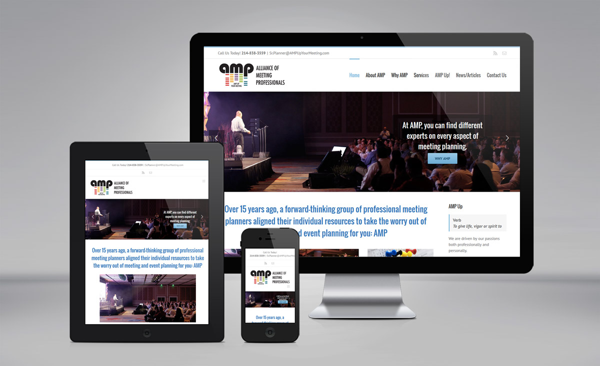 AMP - Alliance of Meeting Professionals website
