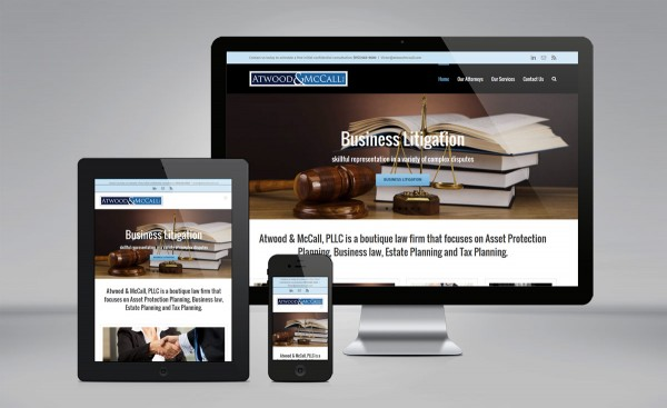 Atwood & McCall, PLLC website