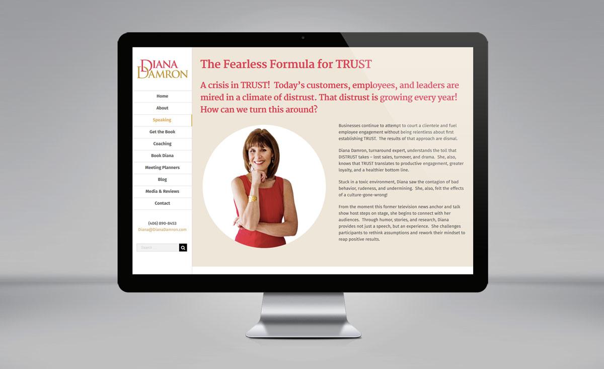 Diana Damron website