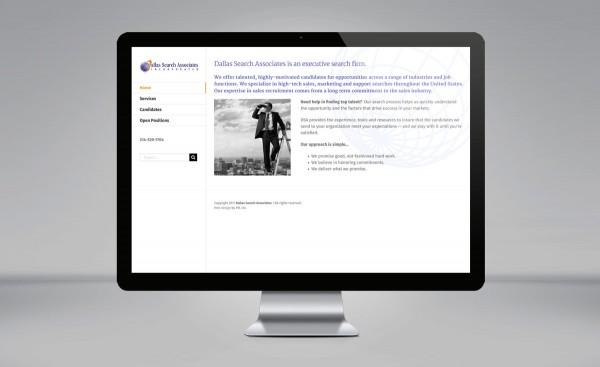 Dallas Search Associates - website