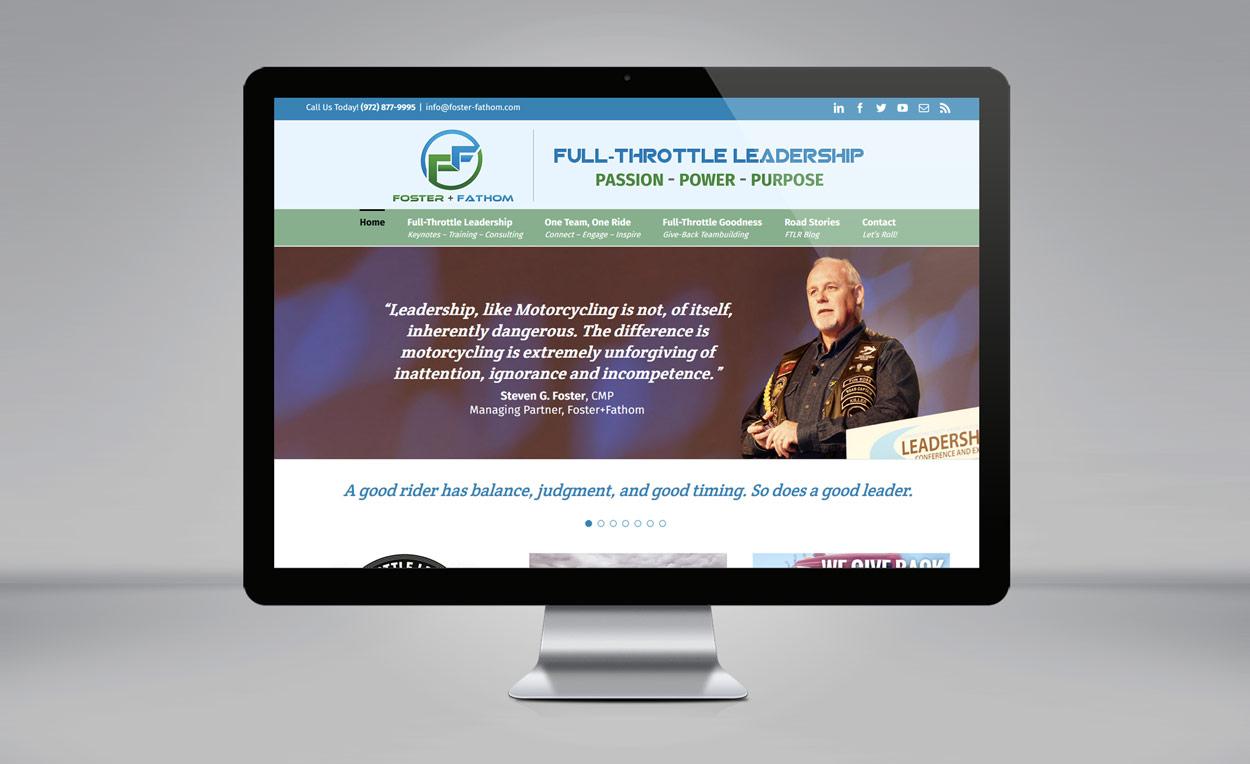 Foster+Fathom website
