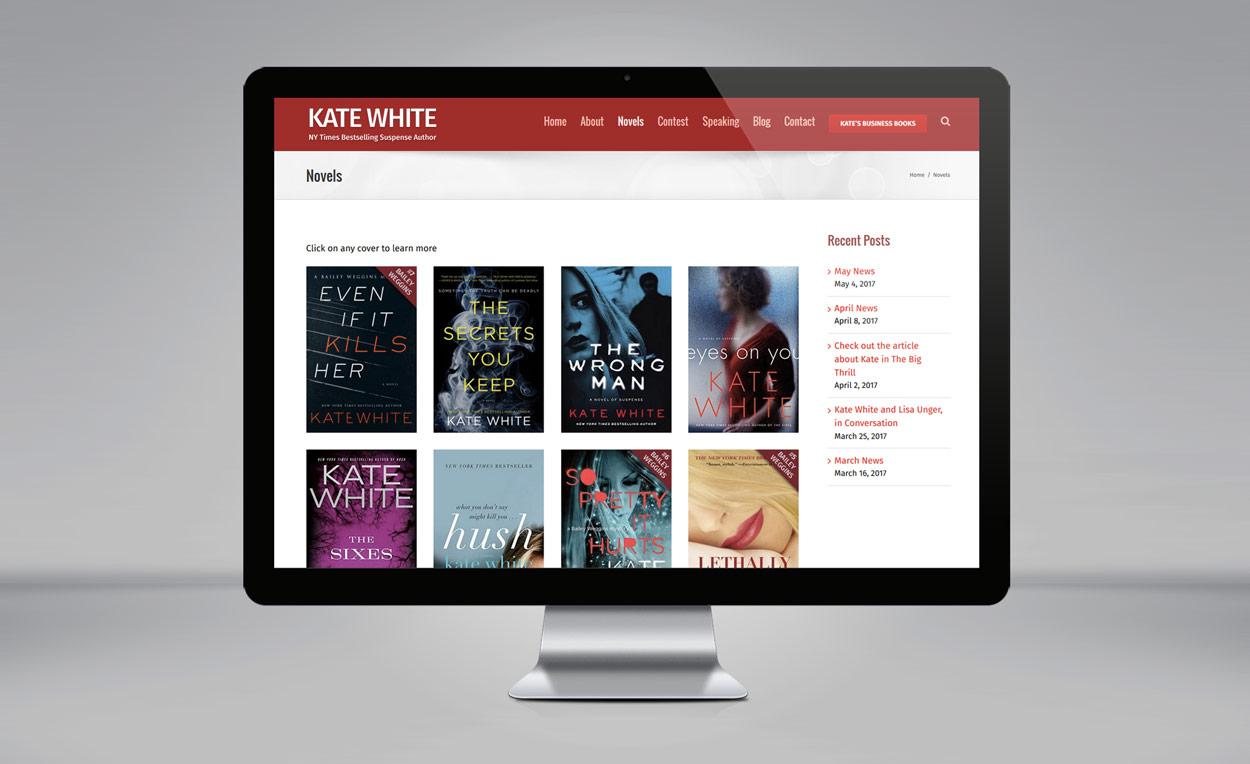 Kate White website