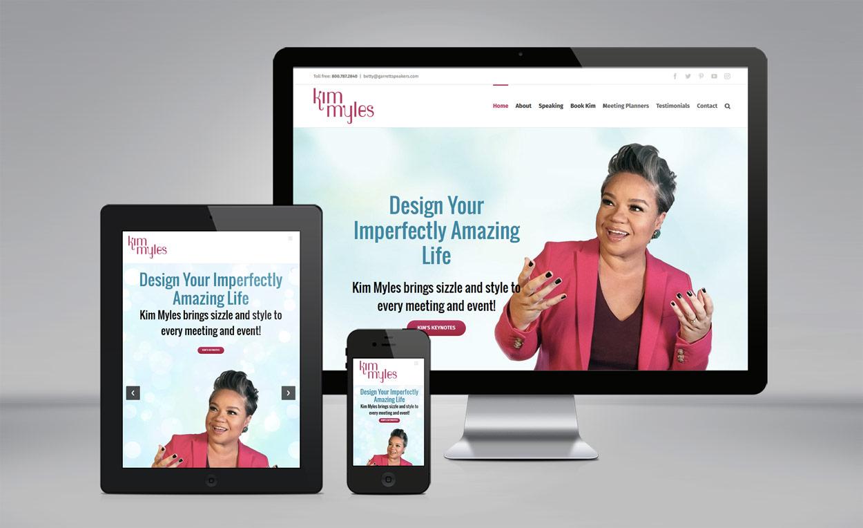 Kim Myles website
