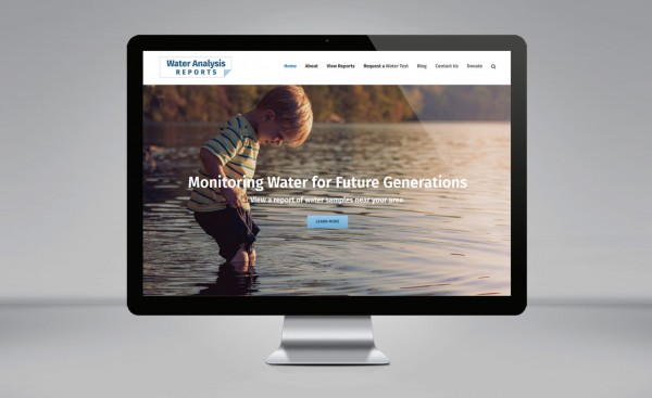 The Water Search website