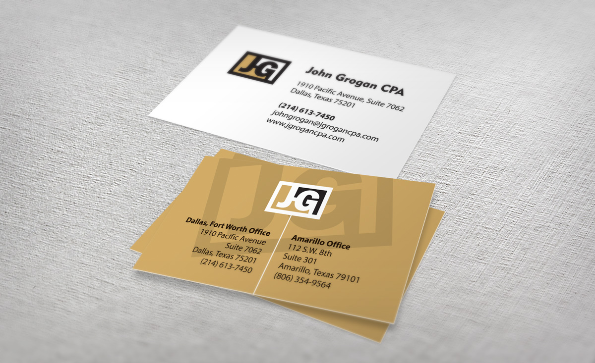 John Grogan CPA bcards