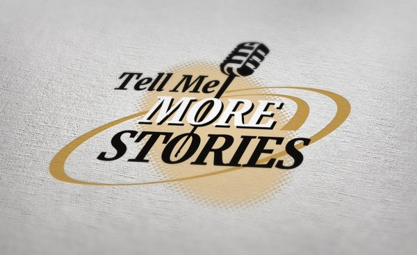 Linda Marsden Thomas' Tell Me More Stories project - logo
