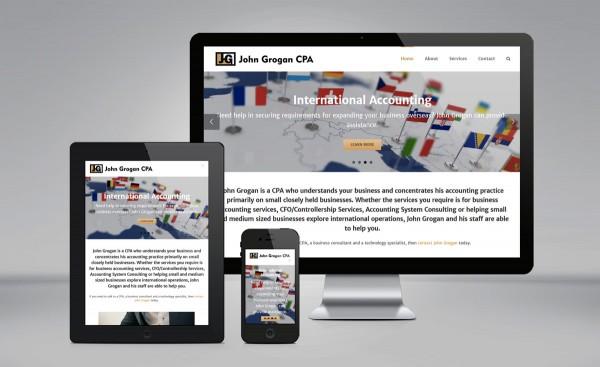John Grogan CPA website