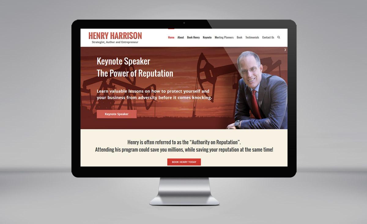 Henry Harrison website