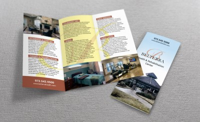 Belterra trifolded brochure