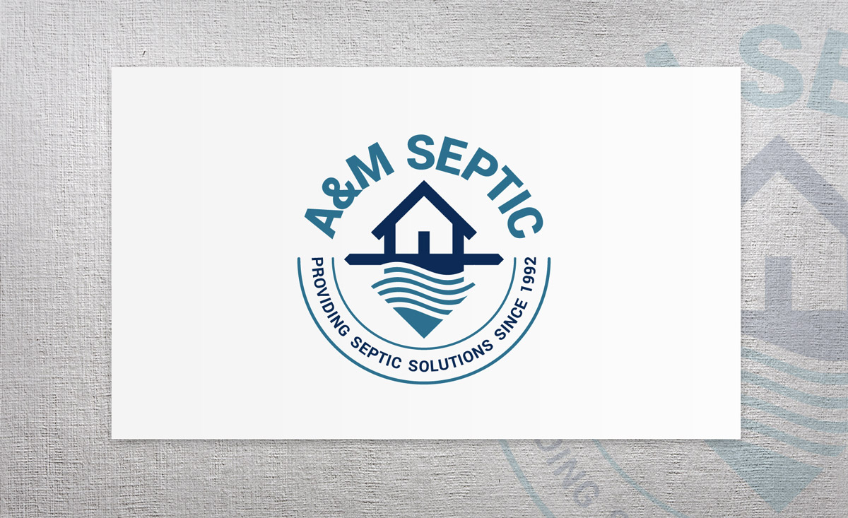 A&M Septic logo