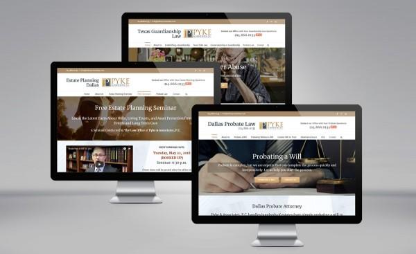 David Pyke websites