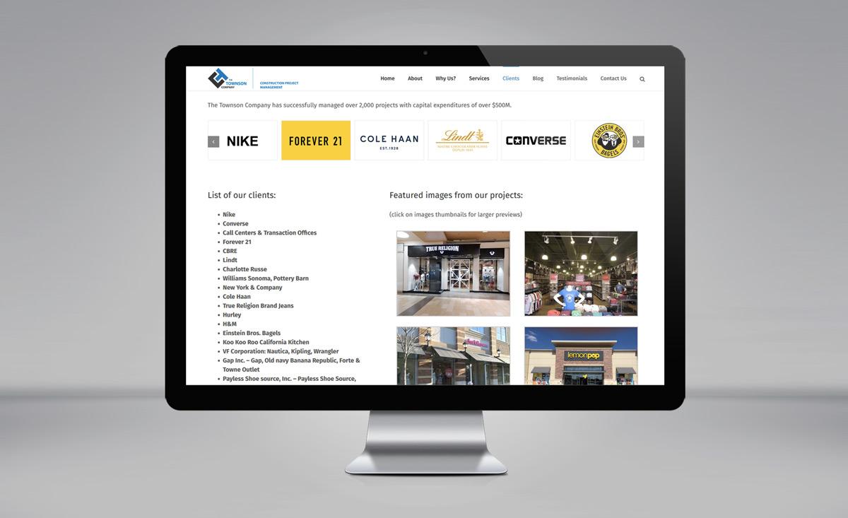 The Townson Company website