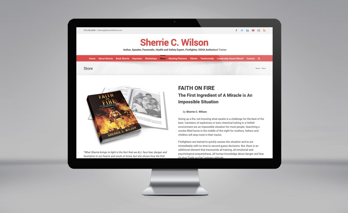 Sherrie C. Wilson website