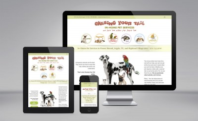 Chasing Your Tail website update