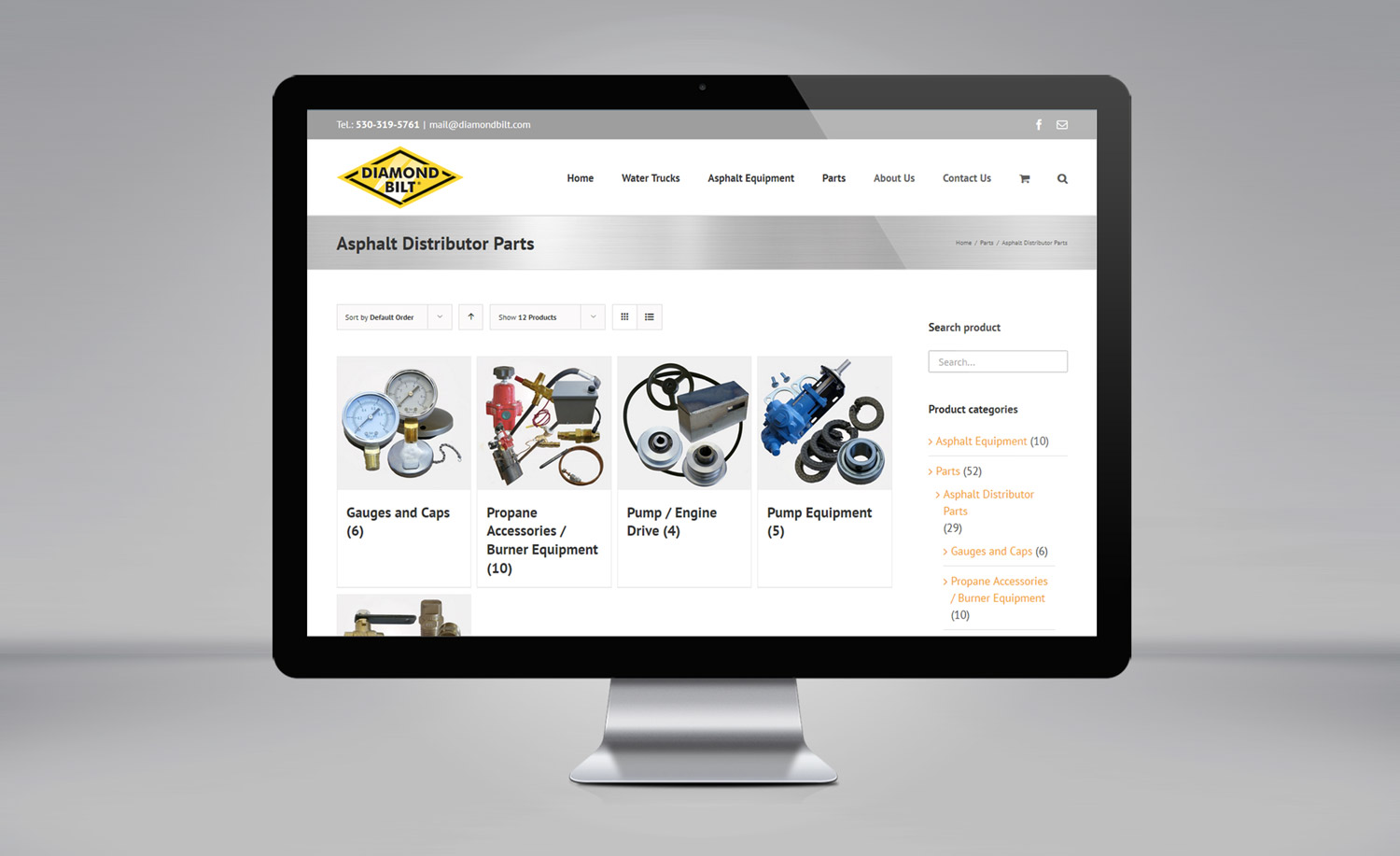 Diamond Bilt website