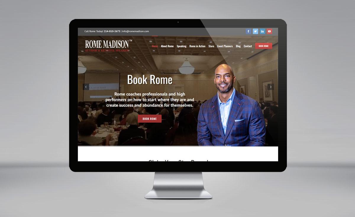 Rome Madison website