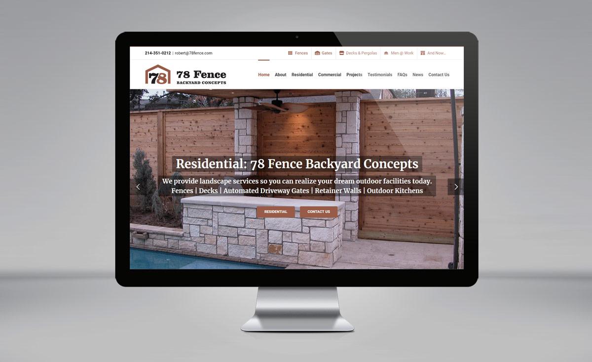 78 Fence Backyard Concepts